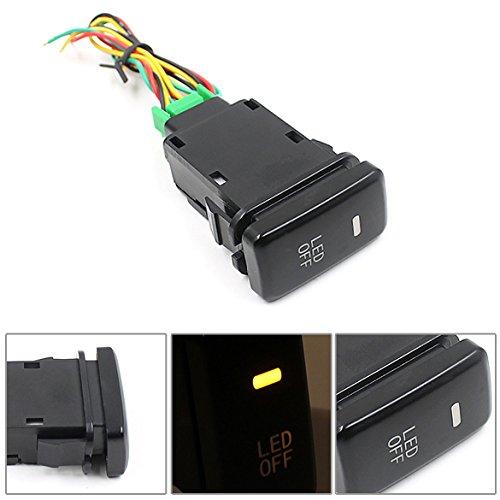 UEB Car Accessory Fog Light LED Lamp On Off Locking Switch for Toyota Vans (Switch Symbol)