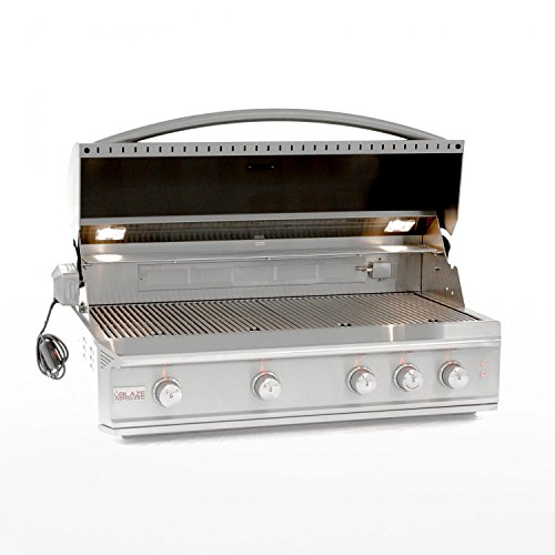 Blaze 44-inch Professional Grill with Rear Infrared Burner (BLZ-4PRO-NG), Natural Gas by Blaze