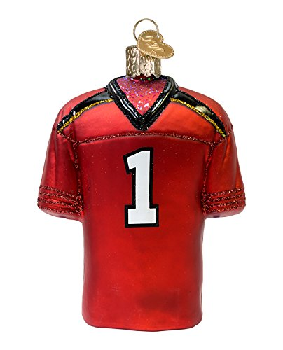 Old World Christmas University of Maryland Jersey Glass Blown Ornament
