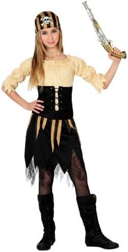 Atosa - Disfraz de pirata para niña, talla 7-9 años (15982 ...