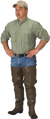 Caddis Men's 2 Ply Rubber Hip Boots