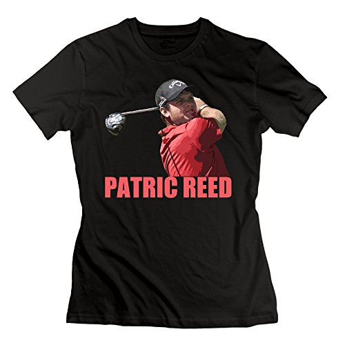 - NCKG Women's Patrick Reed Golf Short Sleeve Tshirts, Color Black Size L