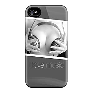 For Iphone 6 Phone Cases Covers(i Love Music)