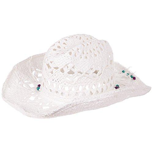 Chiemsee Damen Hat Luna, White, One Size, 4080003