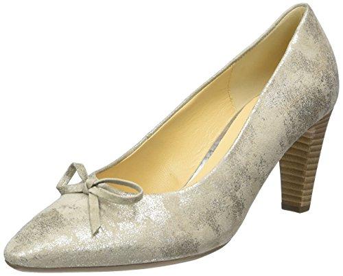 Gabor Gabor - Zapatos de tacón Mujer Plateado (62 visone)