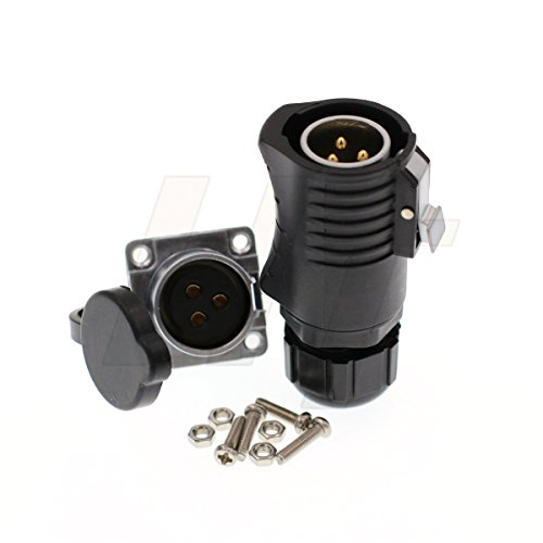 aterproof Aviation Marine Automotive Power Quick Disconnect Connector ()