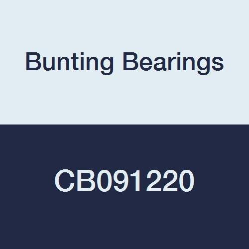 CB091220A3 Plain Bearings Pack of 3 9//16 Bore x 3//4 OD x 2-1//2 Length Bunting Bearings CB091220 Sleeve 9//16 Bore x 3//4 OD x 2-1//2 Length Cast Bronze C93200 SAE 660 Pack of 3