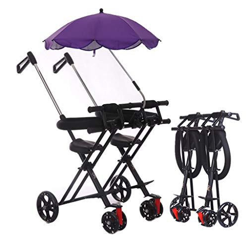 Stroller Zzmop Double Tandem Foldable for Babies Comfort Trip for 12 Month Up to 6 Years Old