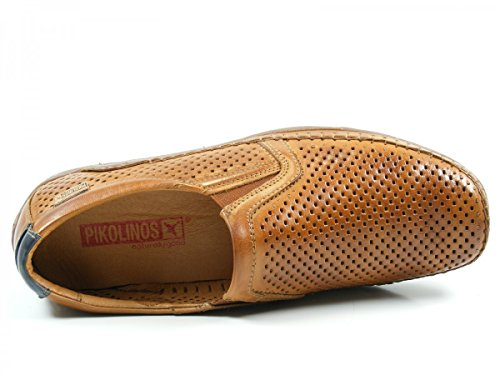 Pikolinos 06H-3088 Azores Zapatos Mocasines de cuero para hombre Braun