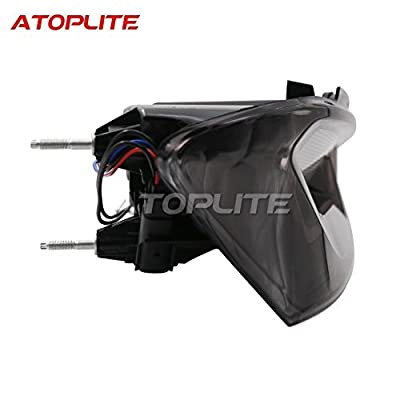 Darkened/Smoked Tail Light Package fits 2016-2020 Chevrolet Camaro LT/LS/RS/SS/ZL1 US Version Made By Atoplite: Automotive