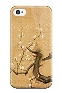 StephanieShaw Perfect Tpu Case For Iphone 4/4s/ Anti-scratch Protector Case (japanese Art )