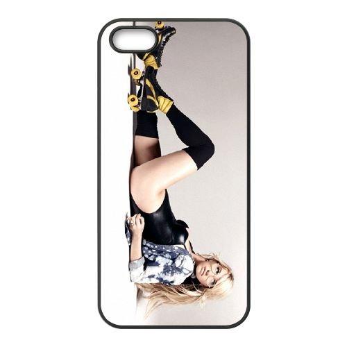 Ke$Ha 002 coque iPhone 5 5S cellulaire cas coque de téléphone cas téléphone cellulaire noir couvercle EOKXLLNCD25175