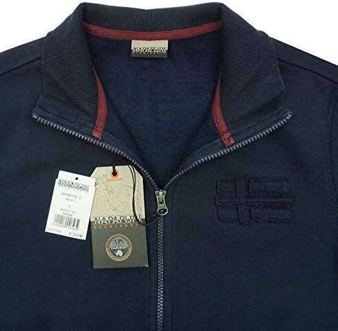 Napapijri Bechet N0YIB8176 Herren Men Sweatshirt Sweatjacke Blu Marine Dunkelblau