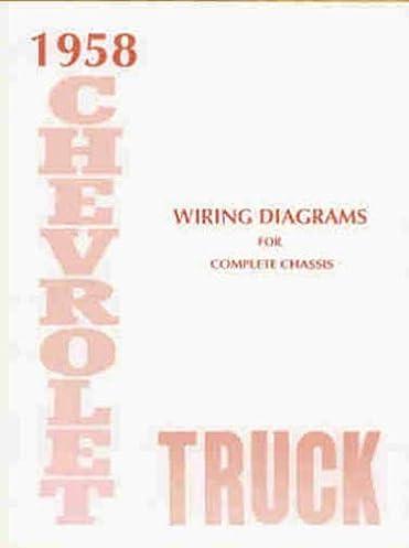 1958 chevrolet truck wiring diagram manual reprint 1979 chevy truck wiring schematic factory wiring diagram for 57 bel air