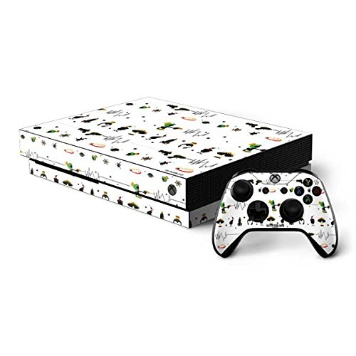 Skinit Looney Tunes Xbox One X Bundle Skin - Marvin the Martian Gadgets | Cartoons Skin by Skinit