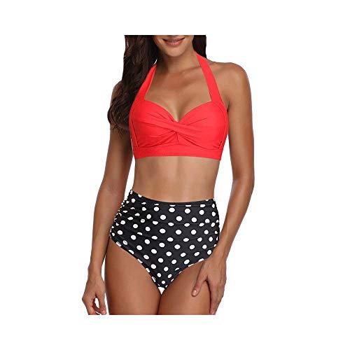 Zomer Sexy Hoge Taille Vrouwen Grote Badpakken Vrouwelijke Strand Bikini Push Up Badmode Bikini's Set Zwemkleding Bather…