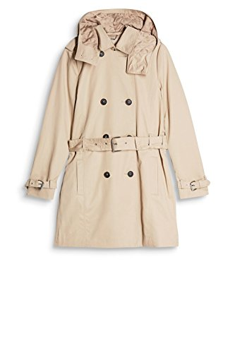 Esprit Femme Collection Beige Manteau skin 280 fqBwfrE