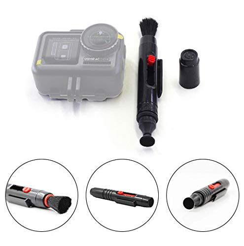 Finedayqi ❤ 2 in 1 Lens Cleaning Cleaner Duster Pen for DSLR Camera and DJI Osmo Action