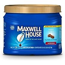 MAXWELL HOUSE, Half Caff, Ground Coffee, 25.6 Ounce
