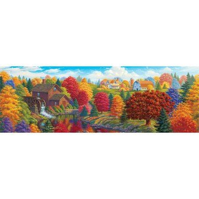 Union River Mill Panoramic Puzzle ()