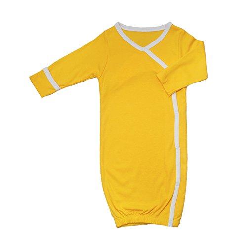 Babysoy Eco Essential Kimono Bundler, Sunshine, 6-9 Months