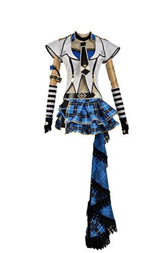 LoveLive Watanabe Rock Awakening Stage Uniform Dress
