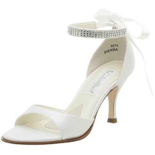 Coloriffics Metallic Sandals - Coloriffics Women's Sierra Sandal White, 6 M