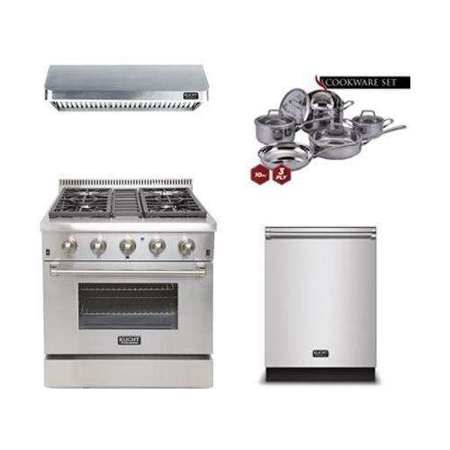 Kucht 4-Piece Kitchen Package with KRD306FLP 30