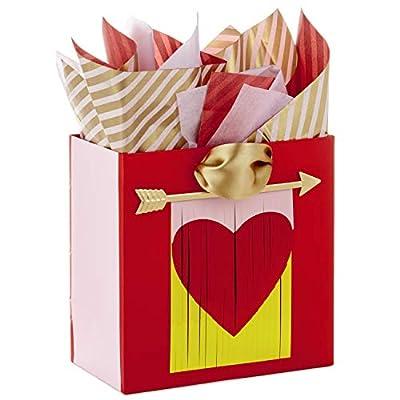 Hallmark Medium Valentine's Day Gift Bag with Tissue Paper