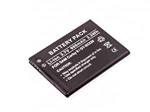 Batería compatible con Samsung Ch@t 335, Corby II, GT-S3850, GT-S5220, Star III, Chat 335, Comeback SCH-R560, Comment, Evergreen, Evergreen A667, Exclaim, Flight II, Flight II A927, Freeform III R380, Gravity 3, Gravity T359, Gravity T479, Gravity Touch, Gravity TXT, GT-C5530, GT-S3350, GT-S3353, GT-S3353 Chat 335, GT-S3850 Corby II, Highnote, Highnote SPH-M630, Messager II, Messager II R560, Messager R450, Messager SCH-R450, Messager Touch, Messager Touch SCH-R630, Rant, Rant M540 y más modelos