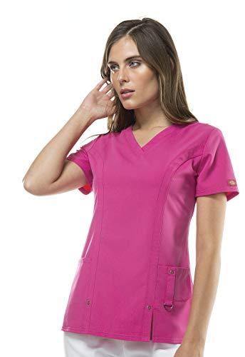 Dickies Women's Xtreme Stretch V-Neck Scrubs Shirt