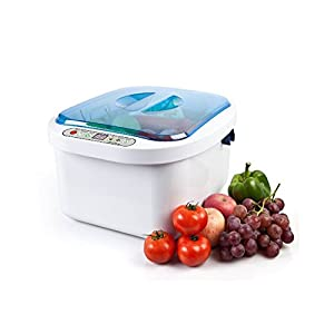 Tdou Vegetable Fruit Sterilizer Cleaner Washer 12.8l Home Use Health Ultrasonic Washer