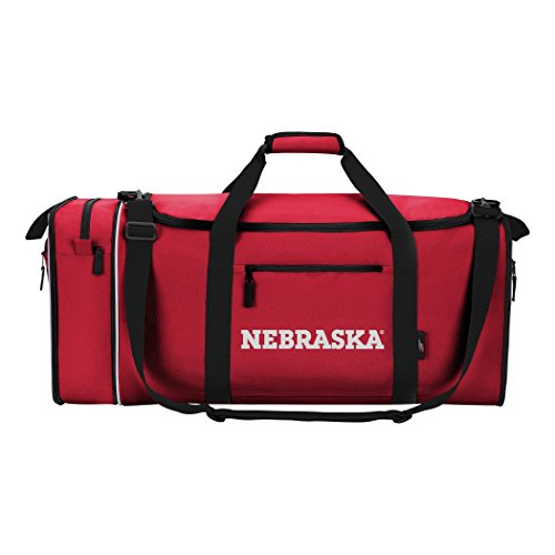 Officially Licensed NCAA Nebraska Cornhuskers Steal Duffel Bag