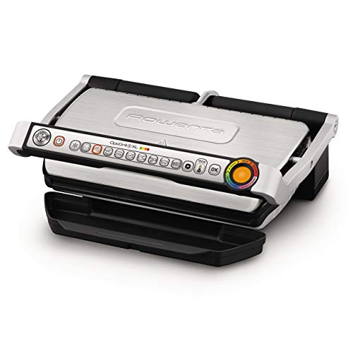 Rowenta GR722D Optigrill+ XL Bistecchiera Intelligente con 9 Programmi di Cottura Automatici, Nero / Argento 48x37… 1