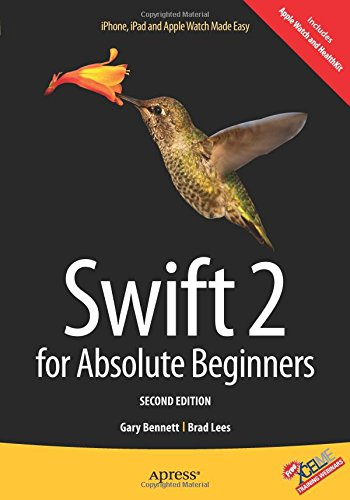 Swift 2 for Absolute Beginners ISBN-13 9781484214893