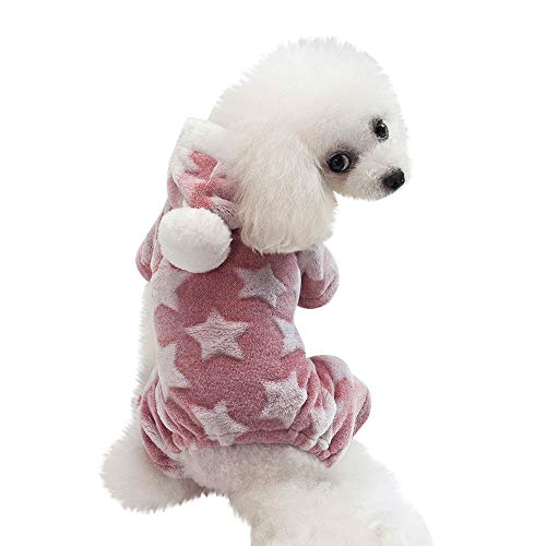Pet Winter Clothes, Duseedik Puppy Dog Cat Coat Dress Apparel Warm Coat Sweater Hoodie Sweatshirt ()