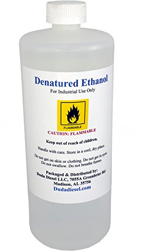 950ml bottle of Denatured Ethanol with 200-Proof Ethyl Alcohol IPA and NP Acetate