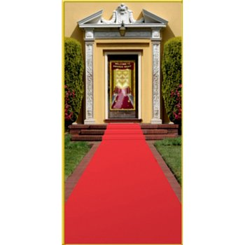 "Beistle S50087AZ2 Red Carpet Runners 2 Piece, 24"" x 15', from Beistle"