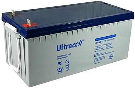 Batería de gel 12V 200Ah: Amazon.es: Bricolaje y herramientas