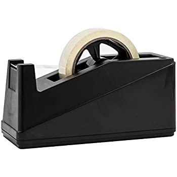 Desktop Tape Dispenser Adhesive Roll Holder (Fits 1