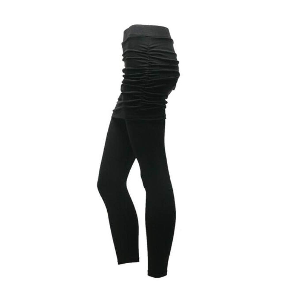 Skirted Pants Leggings Casual Trousers Women Long Solid Color Pant