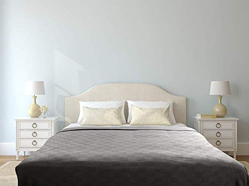 Utopia Bedding Premium Summer Cotton Blanket King Grey - Soft Breathable Thermal Blanket - Ideal for Layering Any Bed