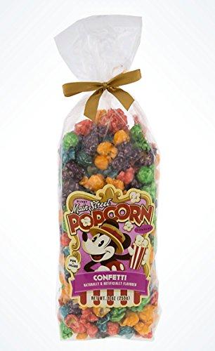 Disney Main Street Popcorn Company Mickey Mouse Rainbow Confetti Popcorn 8 oz