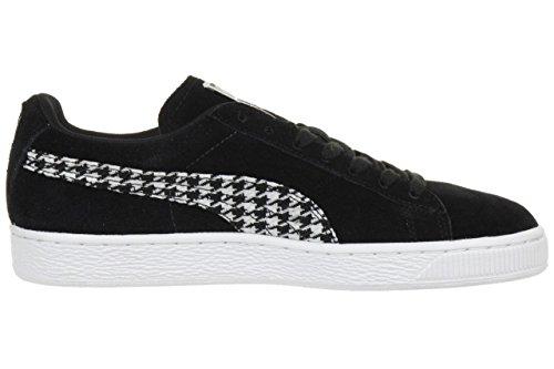 Puma Suede Classic Jungen Sneaker Schwarz Black