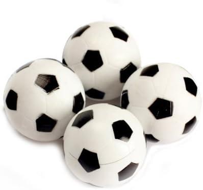 Vktech - New 4pcs 32mm Plástico Bolas de Fútbol de Mesa Foosball Fussball: Amazon.es: Deportes y aire libre