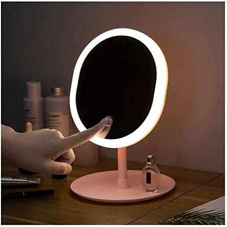 化粧鏡付きLEDライトナチュラルホワイトデイライトバニティミラー着脱可能な記憶ベースツェッペリンミラーライト