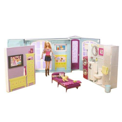 Mattel M0059 La casa di Barbie con Barbie inclusa: Amazon.it ...