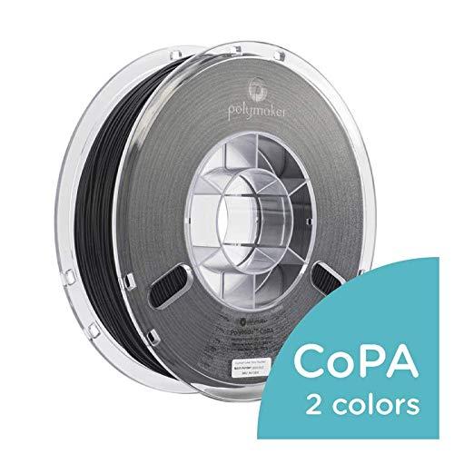 (Polymaker PolyMide CoPA 3D Printer Filament, Nylon Filament, Black Filament, 1.75 mm Filament, 750g)