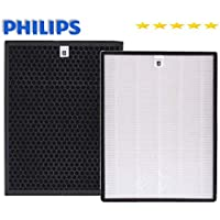 Filter Set Philips AC1215 NanoProtect 1000 Series True HEPA FY1410 + CARBON FY1413 Set of Air Purifier