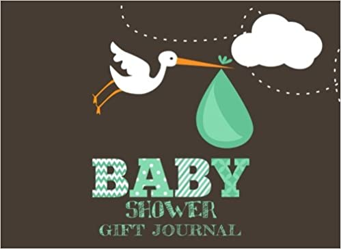 Baby Shower Gift Journal ~ Baby shower gift journal gift log guest book for baby shower